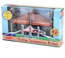 NIB Melissa & Doug Skyline Suspension Bridge #626