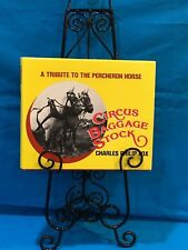 Circus - Circus Baggage Stock - By Charles Philip Fox - First Edition Dated 1983