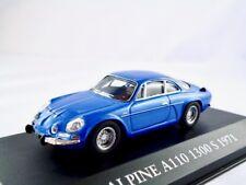 Renault Alpine A110    1962-1977  blau metallic   /    IXO / ATLAS   1:43