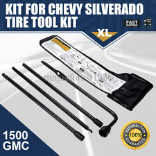Spare Tire Lug Wrench Jack Tool Kit for Chevy Silverado 1500 GMC Sierra Yukon US