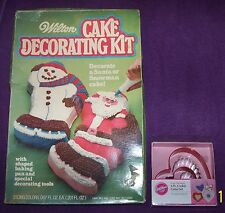 Lot of 2-Wilton Cake Decorating Kit & Wilton 4-Pc. Heart Cookie Cutter Set-New