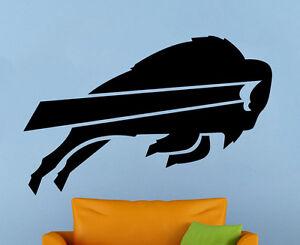 Buffalo Bills Wall Vinyl Decal Sticker Home Sport Logo Decor NFL Football Emblem
