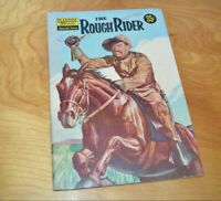 Vintage CLASSICS ILLUSTRATED THE ROUGH RIDER Comic Book VG 1957 Silver Age