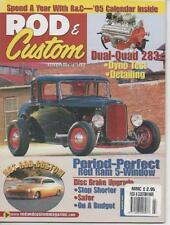 ROD & CUSTOM MAGAZINE March 2005 Red Ram 5 - Window AL