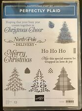 """""""STAMPIN/ UP PERFECTLY PLAID"""" Photopolymer Stamp Set"""