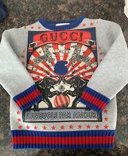 Gucci Kids unisex sweater, new, Size T4