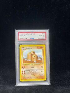 Pokemon Base Set Dugtrio 19/102 - 1999-2000 Print - Graded Card PSA 10