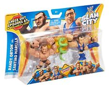 WWE Rumblers Slam City Santino Randy Orton Snake 2 Pack Fight Ages 4+ New Toy