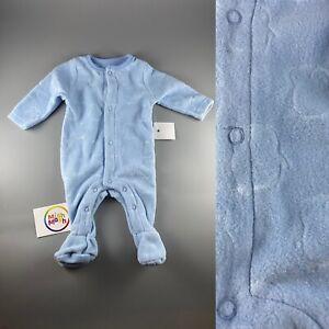 Baby Boy Girl Fleece Soft Penguin Christmas Warm Sleepsuit Romper All In One