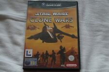 Star wars the clone wars Nintendo Gamecube game 100% Complete