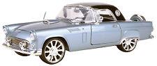 New Motormax 1956 Ford Thunderbird Metallic Grey 1:18 -79005