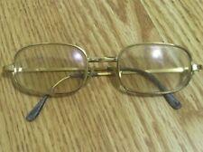 Vintage Gold Filled Gf Selecta Eyeglasses Frame Ma 00006000 de in France 48â–«20 mm Rx Lens