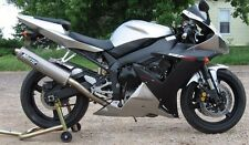 Silver Grey Complete Fairing Bodywork Injection for 2002-2003 Yamaha YZF R1