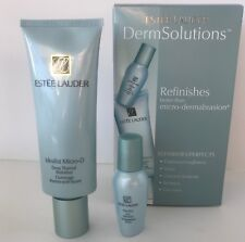 ESTEE LAUDER SET OF 2 DERM-SOLUTIONS THERMAL IDEALIST SKIN REFINISHES NEW IN BOX