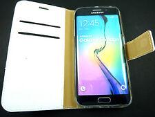 Funda Carcasa Billetera cartera piel AUTÉNTICO Samsung Galaxy S5 S5 Nuevo