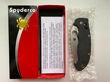 RARE Spyderco Manix XL Carbon Fiber S90V Knife C95CFP2 Sprint NEW