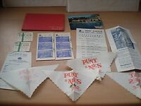 Various Paper Ephemera Of A visit To Rome In 1965