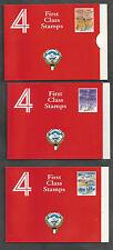 KUWAIT Towers Booklets Scott 1349a 1350a 1351a SG SB5-SB7 Mint NH