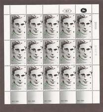 Israel 1984 Charles Orde Wingate Full Sheet Scott 881  Bale 883