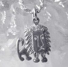 Lion Sterling Silver 925 charm Cool Tribal Caveman symbol of
