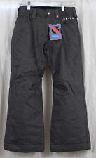 New 2014 Burton Youth Boys Denim Insulated Snowboard Pants Medium Black Wash