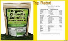 MIX Organics CHLORELLA and SPIRULINA Powder 200gr 100 Servings Good Natured