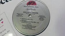 "ANDREE MARANDA - Doctor's Orders 12"" House Electronic 5 track 1989 ex/ex"