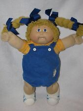 1982 Cabbage Patch Girl Doll W/ Yarn Braided Pig Tails & 1 Tooth