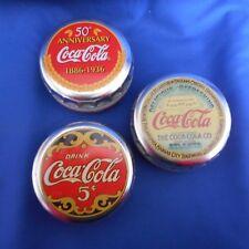 NEW Set of 3 Coke Tins