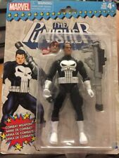 "HASBRO MARVEL THE PUNISHER RETRO 6"" FIGURE W/COMBAT WEAPON FREE SHIPPING"