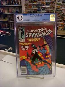 AMAZING SPIDER-MAN #252 (Newsstand Edition) CGC Graded 9.8! ~ White Pages