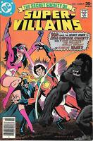 The Secret Society of Super-Villains Comic Book #10, DC 1977 VERY FINE-