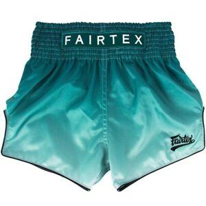 Fairtex Muay Thai Boxing Shorts - BS1906 Fade (Green)
