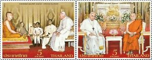 Thailand Stamp 2021 Buddhist - Christian Fellowship ST