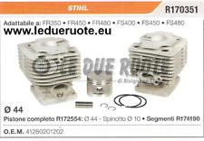 41280201202 KIT CILINDRO E PISTONE  STIHL FS400 FS450 FS480 DECESPUGLIATORE
