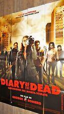 DIARY OF THE DEAD ! george romero affiche cinema zombie