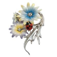 Porcelain Ladybug Pin J00065 New In Box Franz