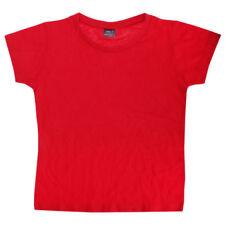 T-shirts et débardeurs rouge col rond pour fille de 4 à 5 ans