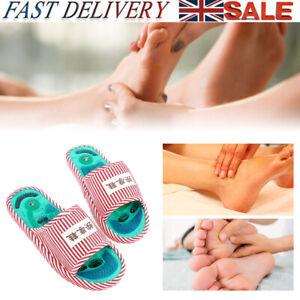 Reflexology Massage Slipper Sandal Feet Acupressure Acupuncture Therapy Medical