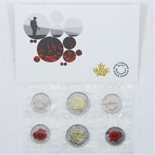 "2015 RCM -in Flanders Fields / Poppy 6 COINS PACK "" Sealed Original RCM"