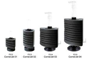 Happet Corner- Jet Bio Schwammfilter  mit Standfuss und Zubehör