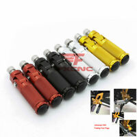 CNC Universal Motorcycle Bike Folding Foot Pegs Footpegs Rear Set Pedals Racing