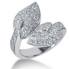 Diamant Brillant Ring mit 1,25 Karat Brillanten 585 Weißgold Alle Ringgrößen