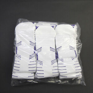 Kansas State Wildcats Nike  Socks Men's White/Purple New with Tags