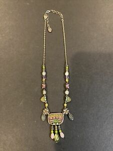 Artisan Signed Ayala Bar Necklace
