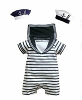 Baby Boy Girl Sailor Marine Carnival Fancy Dress Costume Outfit Clothes Set