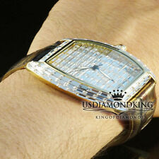 New BlingMaster Watch Golden 1Ct Lab Diamond Baguette Style Joe BM Rodeo Jojino