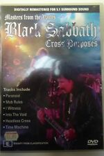 MASTERS FROM THE VAULTS BLACK SABBATH CROSS PURPOSES DVD  GOOD CONDITION