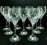 "9 pc Schott-Zwiesel REVUE WATER GOBLETS 7 7/8"" + BURGUNDY WINE GLASSES 7 5/8"""