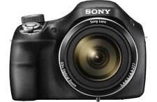 Sony DSCH400 20MP 3 Inch LCD 63x Zoom Built in Flash 720p HD Bridge Camera Black